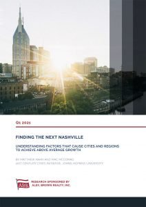 Finding the Next Nashville